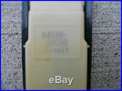 01-04 Toyota Highlander Driver Left Side Master Power Window Switch 84040-48050
