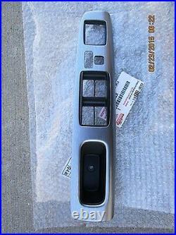02 06 Toyota Camry Master Power Window Switch Bezel Trim Brushed Nickle New