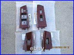 03 08 Toyota Corolla Le S Set Of All Four Window Switch Bezel Trim Brand New