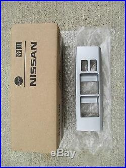 05-12 Nissan Pathfinder Driver Master Power Window Switch Bezel Trim Silver New