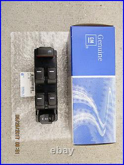 06 10 HUMMER H3 H3x H3T MASTER POWER WINDOW SWITCH 25779767 BRAND NEW