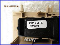 07 10 Saturn Outlook Xe Xr Driver Left Side Master Power Window Switch New