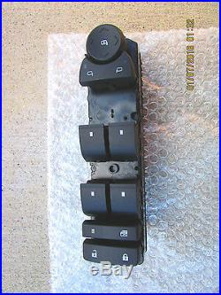 07 13 Chevy Tahoe Suburban Avalanche Lt Ls Master Power Window Switch New