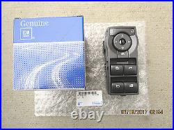 08 09 Pontiac G8 Gt Gxp 4d Sedan Master Power Window Switch Oem New 92247218