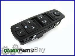 09-12 Dodge Ram 1500 2500 3500 Quad and Crew Cab Power Window Master Switch OEM