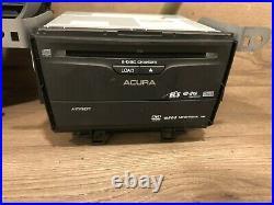 09 2014 Acura Tsx CD Navigation Screen Monitor Radio Stereo Climate Mp3 DVD Oem