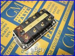 1948-1953 GM & Packard 4 Button Power Window Switch with Chrome Bezel