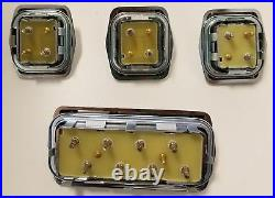 1958-1969 Power Window Switch Chevy Buick Cad Olds Pont GM Full Size 4 Pc Set