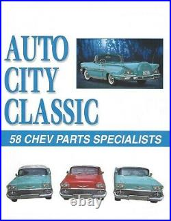 1958 Chevrolet Impala Seat Switch Power and 58 Chevy Parts Catalog