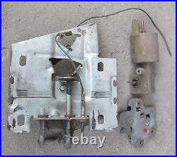 1966 Cadillac Power Trunk Pulldown Release Latch Actuator Set Used Orig 65 66 67