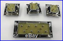 1968-72 Gm Cars Power Window Switch Kit Set Of 4 With Square Corners New