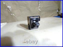 1970 1974 Firebird Trans Am Power Lock Dash Switch Super Rare Find