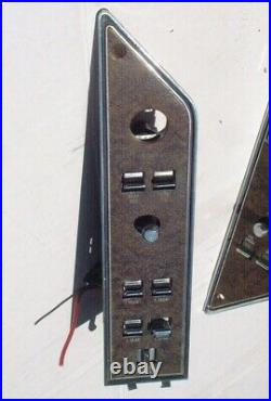 1972-73 Mark IV SWITCHES on DOOR PANEL power window seat oem continental lincoln