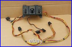 1992-1993 Corvette Dual Power Seat Switches + Fx3 Switch Good Condition C4