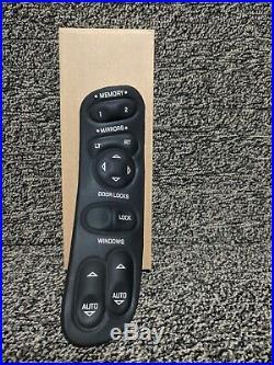 1997 2004 C5 Corvette Left Hand Power Window Switch With Memory Option New