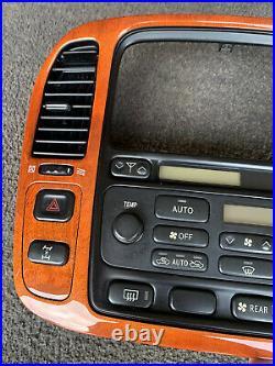 1998-2002 Lexus lx470 Radio AC Climate Control Dash Panel Vents 84010-60060