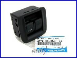 2001-2005 Mazda Miata Black Center Console Power Window Switch OEM NC726635002