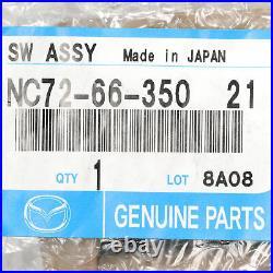 2001-2005 Mazda Miata Tan Center Console Power Window Switch OEM NEW NC726635021