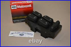 2001 Ford F-150 Crew Cab LH Driver Side Door Master Power Window Switch OEM