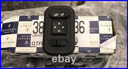 2002-06 Maserati Spyder Coupe New Power Mirror Console Switch Oem 383300136