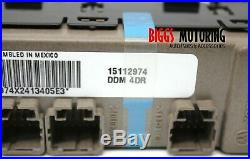 2003-2007 Hummer H2 Driver Left Side Power Window Master Switch