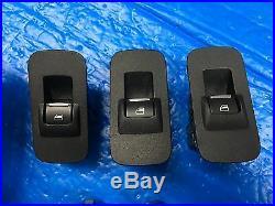2015 2019 Ford F150 Lariat Power Window Switch Master & Passenger & Rear Black