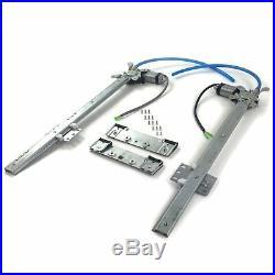2 Door Flat Power Window Kit U-Wire Driver/Passengers PW5500 truck