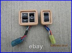 84 85 Toyota Le 2.0l I4 3d Std Cargo Mini Van Master Power Window Switch
