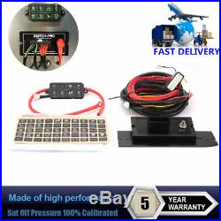 8 Switch 8100 User-Programmable Panel Power System for Jeep Boat & Other Latest