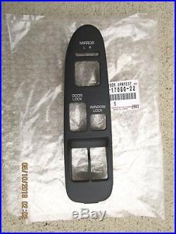 91 95 Toyota Mr2 Front Left Side Master Power Window Switch Bezel Trim Oem New