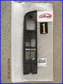 95 00 Toyota Tacoma Fr-lh Master Power Window Switch Bezel Trim Gray Oem New