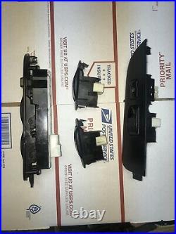 98 99 00 01 02 Toyota Corolla Driver Master Power Window Switch Set BLACK RARE