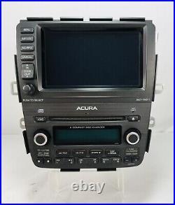 Acura MDX Oem Front Navigation Trip Screen Monitor Radio Map Headunit 03-06 4