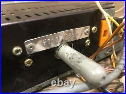 Bmw E30 E32 E34 318i Cm5907 Front Cassette Player Radio Tape Indash Stereo Oem 1