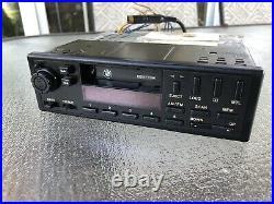 Bmw Oem E23 E24 Front Cassette Player Radio Tape Indash Stereo Cm5804 Tested
