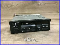Bmw Oem E34 E36 Front Cassette Player Radio Tape Indash Stereo Cm5903 91-97