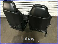 Bmw Oem E36 M3 Front Driver And Passenger Side Leather Seats Vader Seat Black