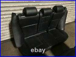 Bmw Oem E53 X5 Front And Rear Leather Seat Seats Set Sport Napa Black 2000-2006