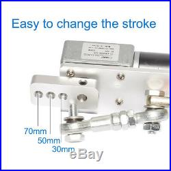 DIY Design DC12V Reciprocating Motor+Switching Power Supply+PWM Speed Controller
