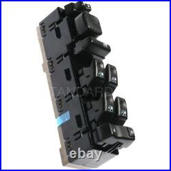 DWS-241 Power Window Switch Front Driver Left Side New Black for Chevy Chevrolet