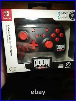 Doom Eternal POWER A Enhanced Wireless Controller for Nintendo Switch