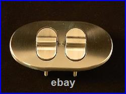 Double Oval Paddle Billet Power window Switches For Your Hot Rod, Street Rod