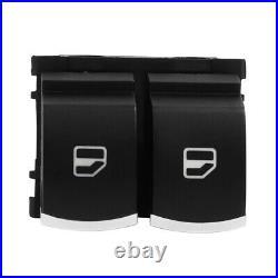Driver Side Power Window Switch 5K3959857 For VW Golf MK5 MK6 GTI EOS 2 Doors