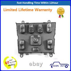 Electric Master Power Window Control Switch Fits Mercedes Benz ML320