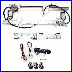 Flat Power Window Kit with 3 Switches PW55033 custom truck street