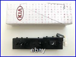 Genuine Kia Power Seat Switch 2011-2015 Sorento Front Seat Left Driver Side Blak