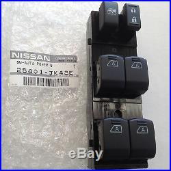 Genuine New 2007-2008 Infiniti G35 4door Sedan Power Window Switch 25401-jk42e