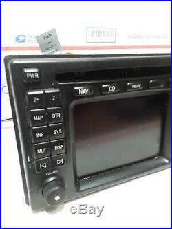 Mercedes Benz Oem W210 E320 E430 E55 Front Navigation Screen Monitor Gps Unit