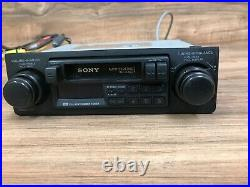 Mercedes Benz Volvo Bmw Porsche Oem Sony Cassette Player Radio Stereo Xr-2300