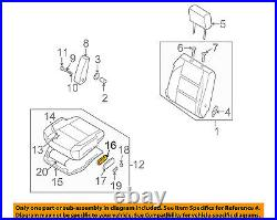 NISSAN OEM Power Seat-Switch 87066EA20A